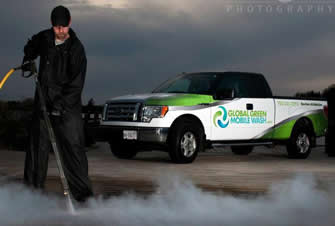 Global green mobile pressure washing